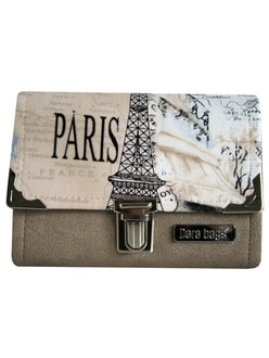 Peněženka DARA BAGS Third Line Purse No. 242 I love Paris