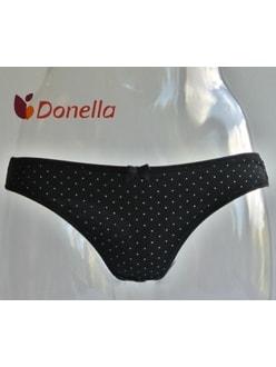Dámské kalhotky DONELLA Sabina černá puntík ac74560f25