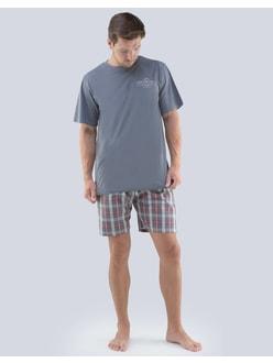 GINA pánské pyžamo krátké pánské 69f40b25c4