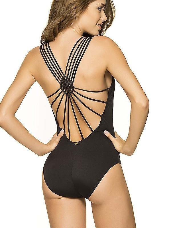 Plavky-Pradlo.cz - Jednodílné plavky PHAX Sunshine Fiesta černé ... 972ebbe7b0