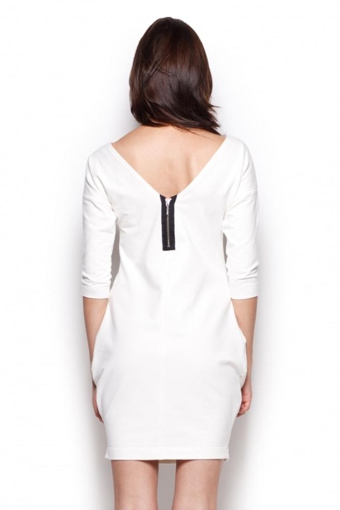 943d0c5b1d72 Plavky-Pradlo.cz - Dámské šaty FIGL M312 krémové - FIGL - Šaty ...